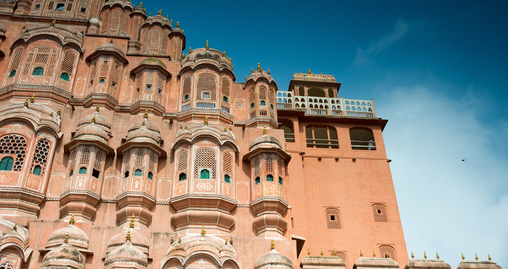 Palace of the Winds in Jaipur.