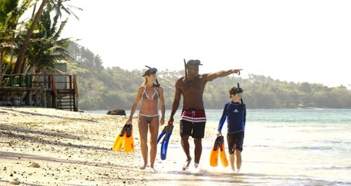 Fiji is a wonderfu family holiday destination