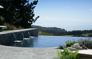 Cape Kidnappers pool