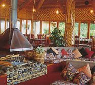 Ambua Lodge lounge