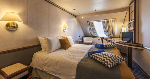 The SJ Junior Suite on the Celestyal Nefeli