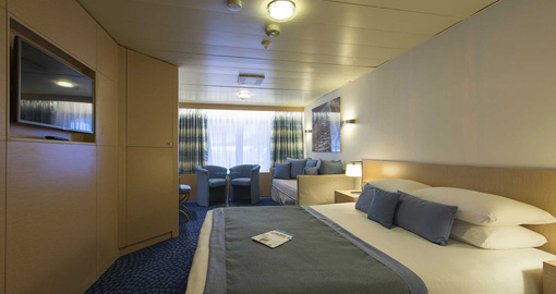Junior Suites on the MS Celestyal Olympia.