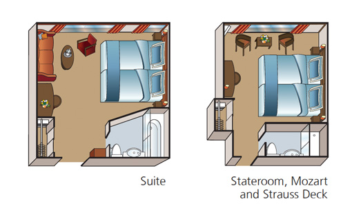 Amadeus Princess Ship Cabin