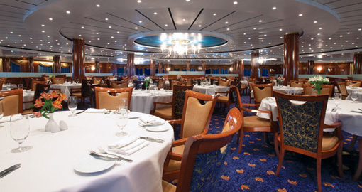 Seven Seas Main Dining Room.