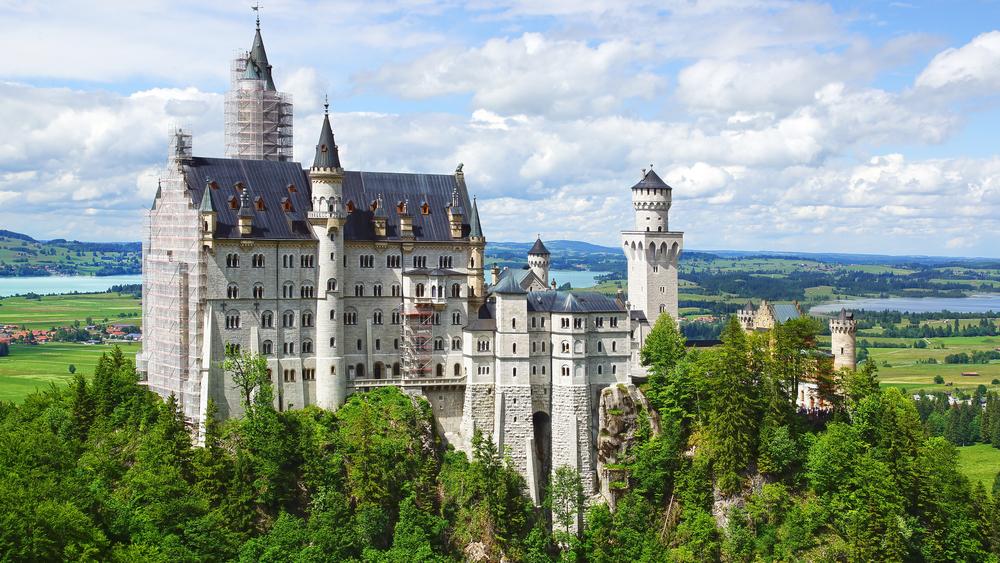 castles  u0026 the romantic road
