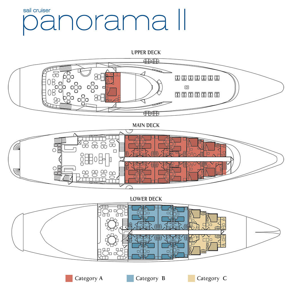 Deck Plan Goway Travel