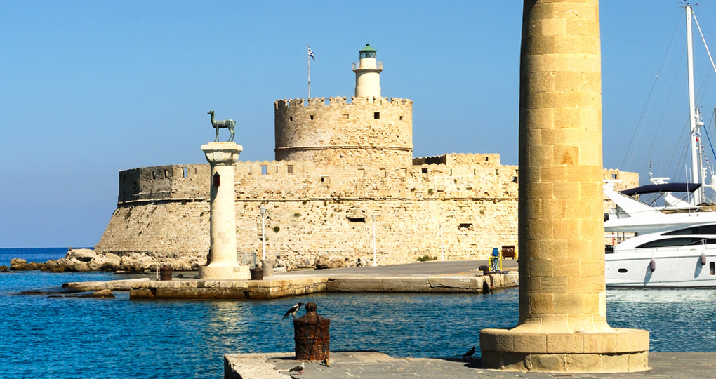 Port of Rhodes, Greece