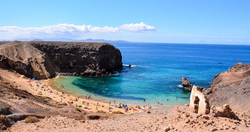 Papagayo Playa Blanca, Lanzarote, Canary Islands, Spain