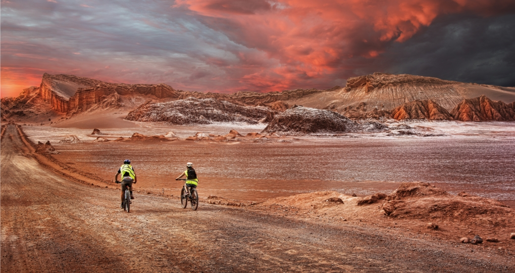 biking in Atacama