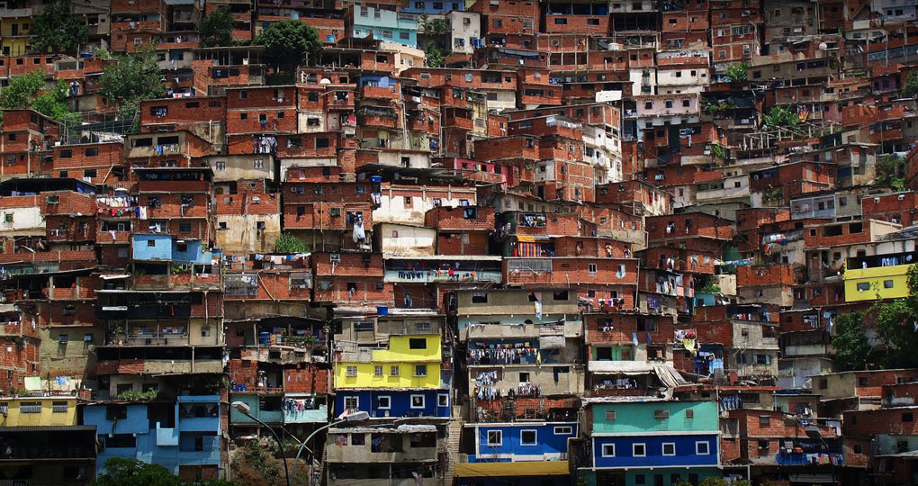 Medellin homes on the hill
