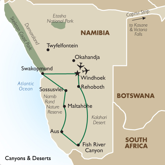 Nambia tours canyons deserts goway canyons and deserts gumiabroncs Image collections