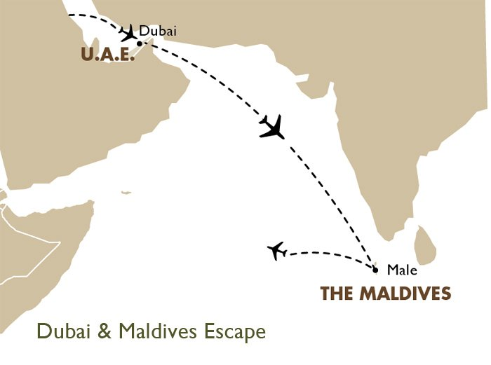 Dubai maldives escape asia vacations goway travel dubai maldives escape gumiabroncs Choice Image