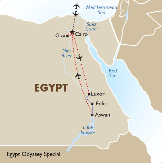 Egypt Geography Maps Egypt Tours 2021 22 Goway Travel
