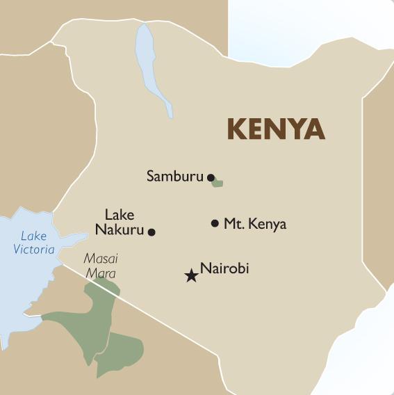 Kenya Geography & Maps | Kenya Safari - 2019/20 | Goway