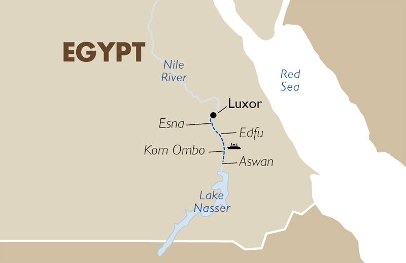 Sonesta Star Goddess 4 Nights From Luxor Egypt Tour Goway Travel