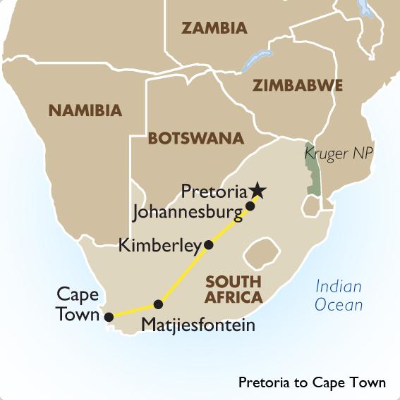 Rovos Rail Cape Town Pretoria South African Tours Goway