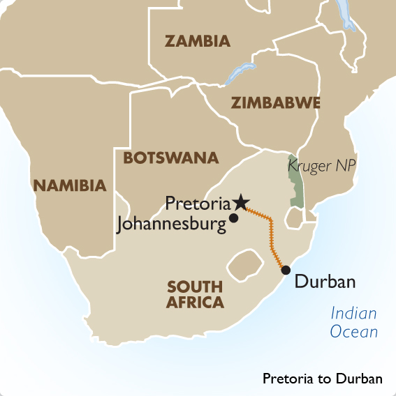South Africa Train Tours Rovos Rail Ex Durban Goway