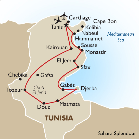 Image result for tunisia itinerary