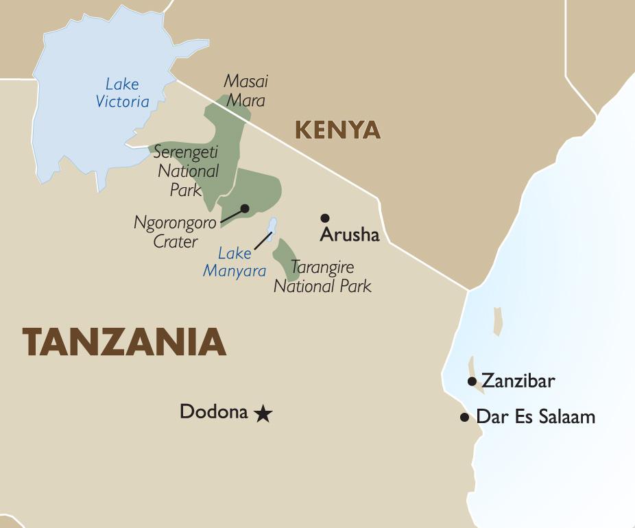 Tanzania Safari Luxury Vacations African Safari 201819 Goway