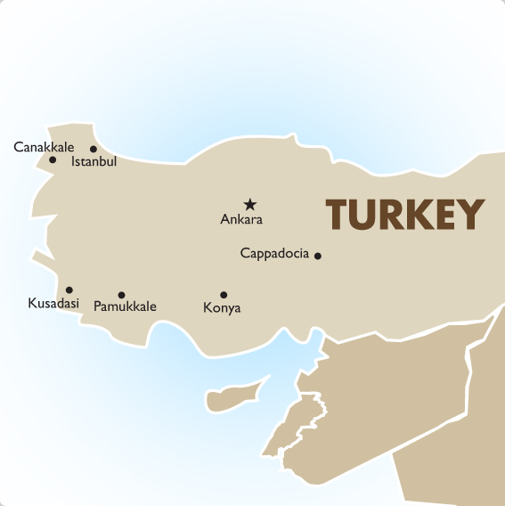 Turkey | Geography & Maps | Goway Travel