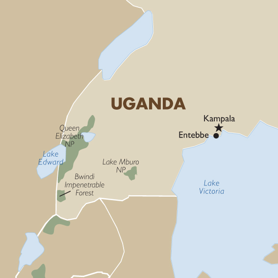 Uganda Geography And Maps Goway Travel