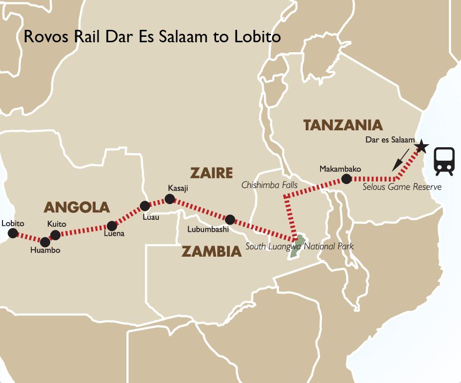 Dar Es Salaam to Lobito Tanzania vacations Goway Travel