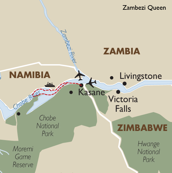 Zambezi Queen Botswana Tours Amp Safaris Goway Travel