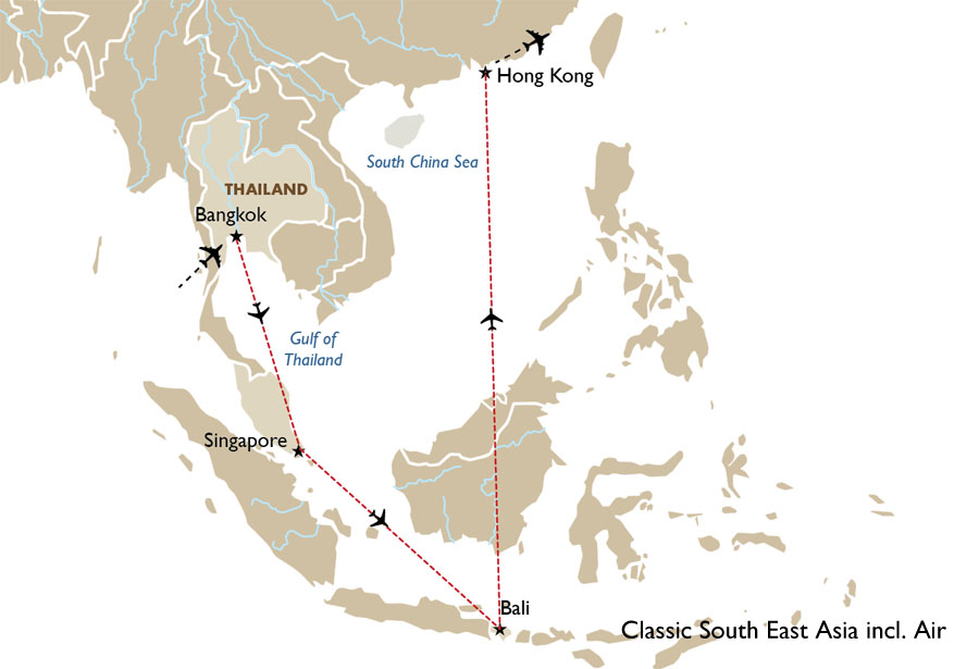 Goway Travel Classic South East Asia Incl Air