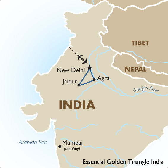 Golden Triangle India Tour Package Seat In Coach Goway
