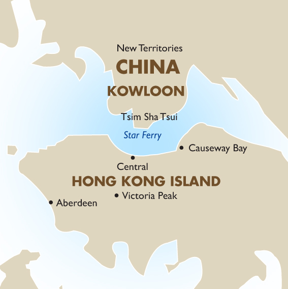 Hong kong vacations tours travel packages 201819 goway hong kong country map gumiabroncs Image collections
