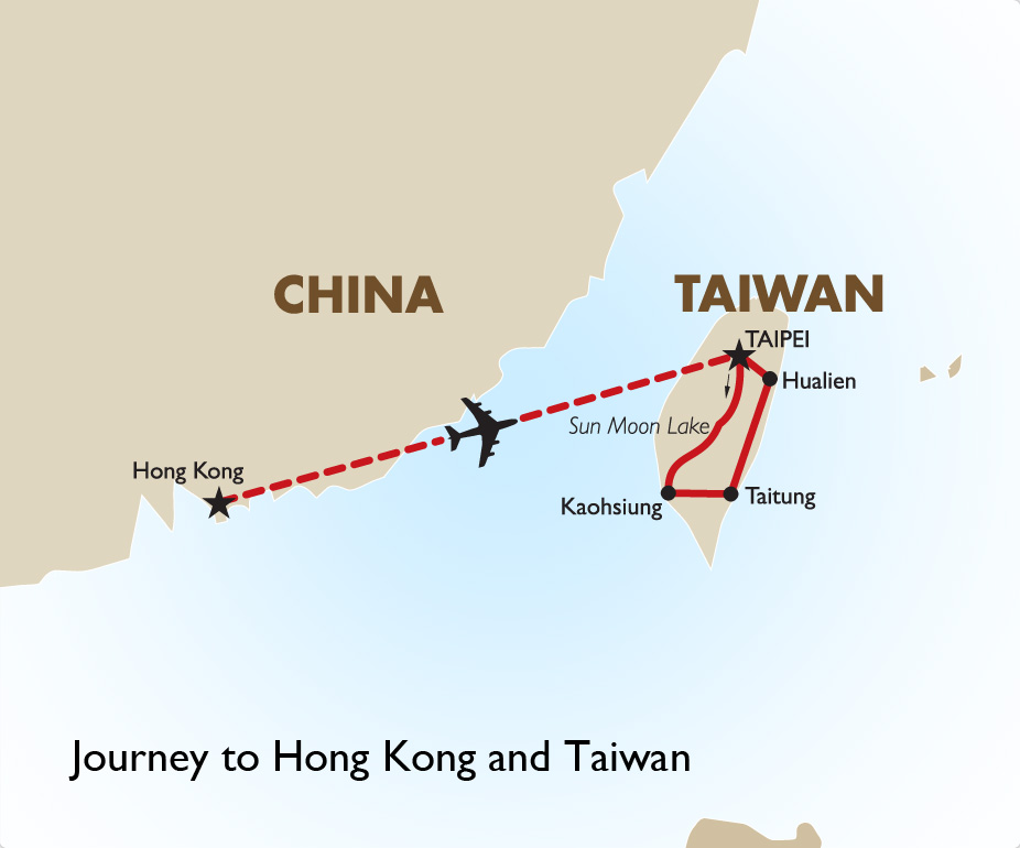 Journey To Hong Kong And Taiwan
