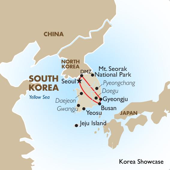 Korea showcase korean tours goway travel korea showcase gumiabroncs Gallery