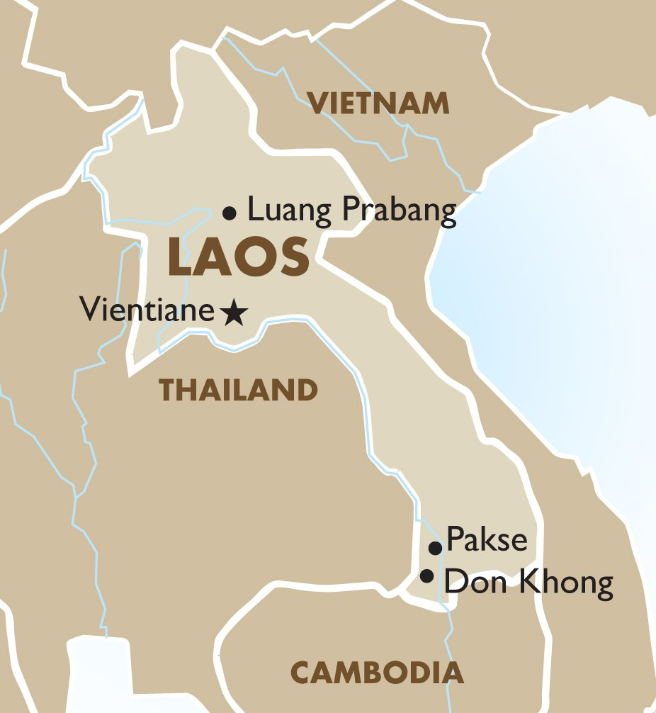 Laos - Geography and Maps | Goway Travel