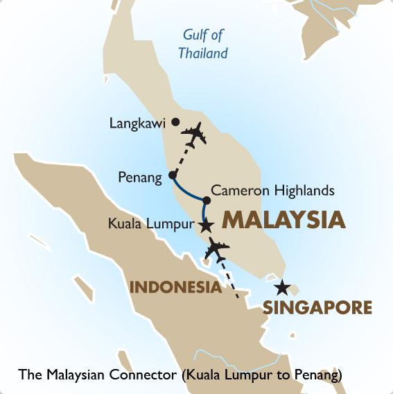 Kuala Lumpur to Penang Malaysia Vacations Goway Travel