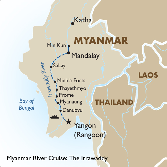 Myanmar River Cruise The Irrawaddy | Myanmar Tour | Goway Travel