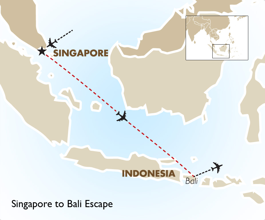 Singapore to bali escape bali vacation goway travel singapore to bali escape gumiabroncs Choice Image