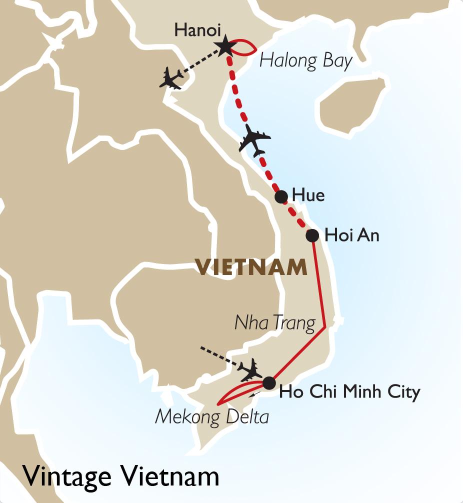 Vintage Vietnam Vietnam Vacation