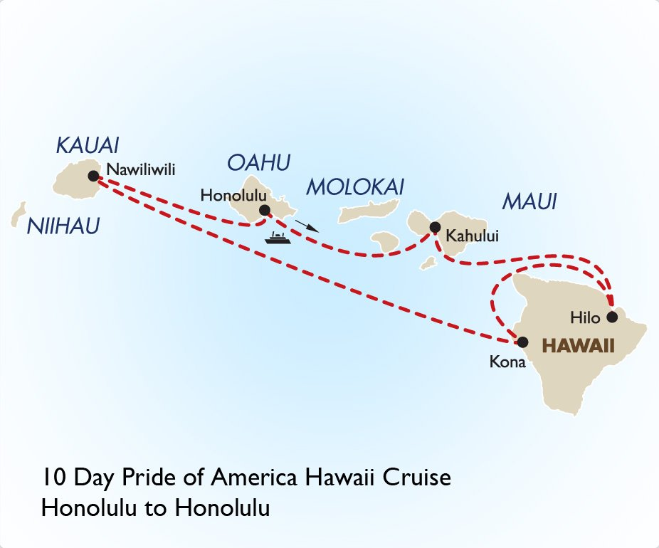 Pride Of America Hawaii Cruise South Pacific Vacations
