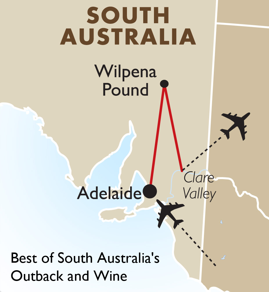 South Australia s Outback & Wine Australia Vacations