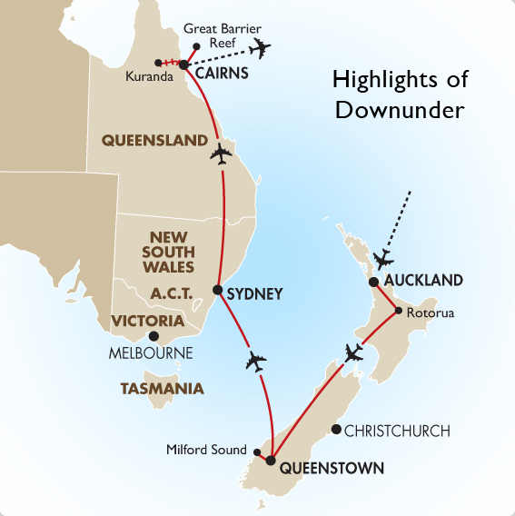 Highlights Of Downunder Australia Vacations Amp Tours Goway