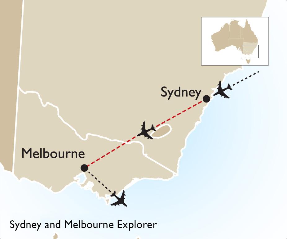 sydney and melbourne explorer australia vacation goway rh goway com