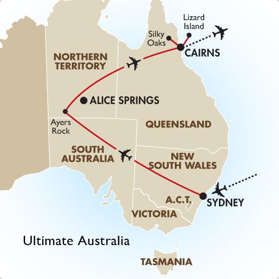 Australia South Pacific: Australia Honeymoon Package