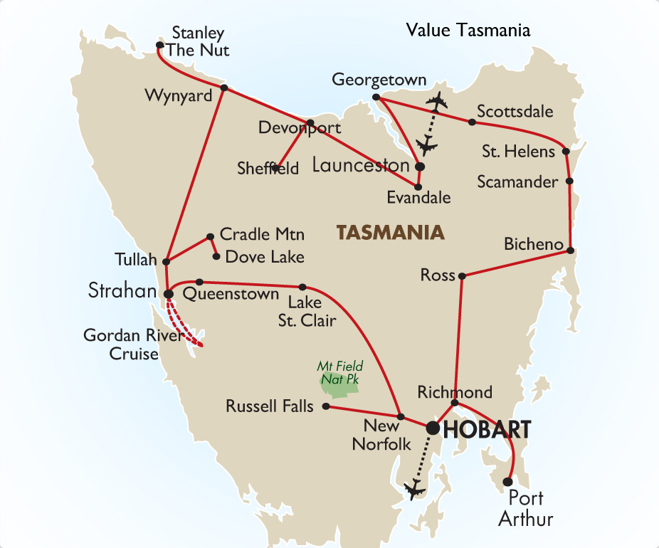 Value Tasmania 6 Days Australia Vacation Packages Goway