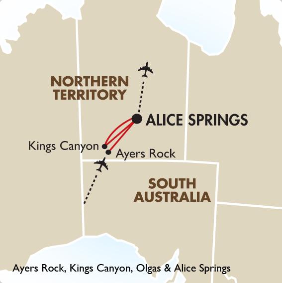 Australia S Red Centre Trips To Australia Goway Travel