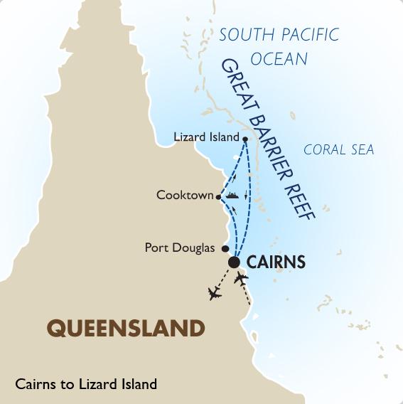 Lizard Island Map