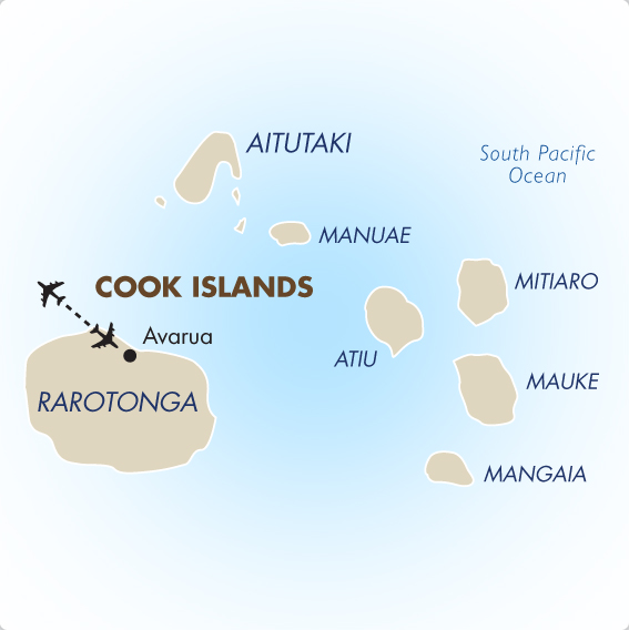 Cook Islands Geography Maps Cook Islands Vacation Goway