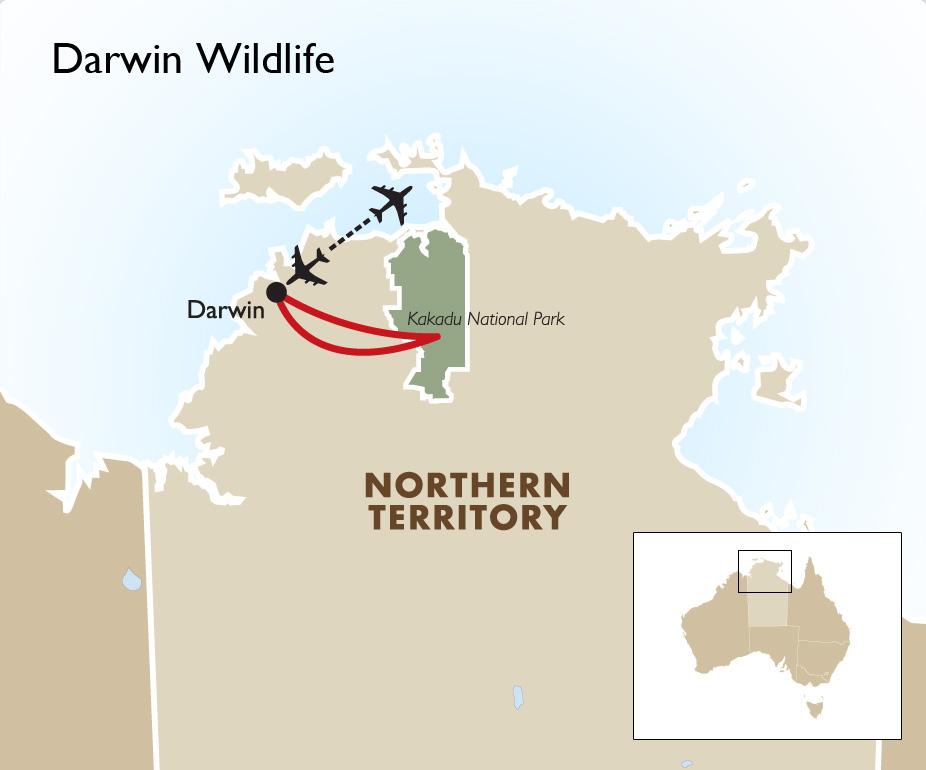Darwin Wildlife   Darwin Tours & Australia Vacations   Goway
