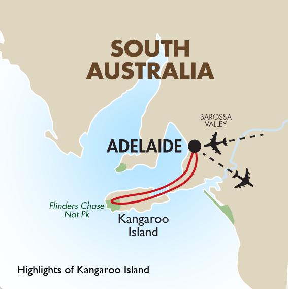 Map Of Australia Kangaroo Island.Kangaroo Island In Style Australia Vacation Goway Travel