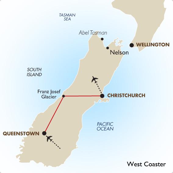 Australia South Pacific: New Zealand Glacier Tour