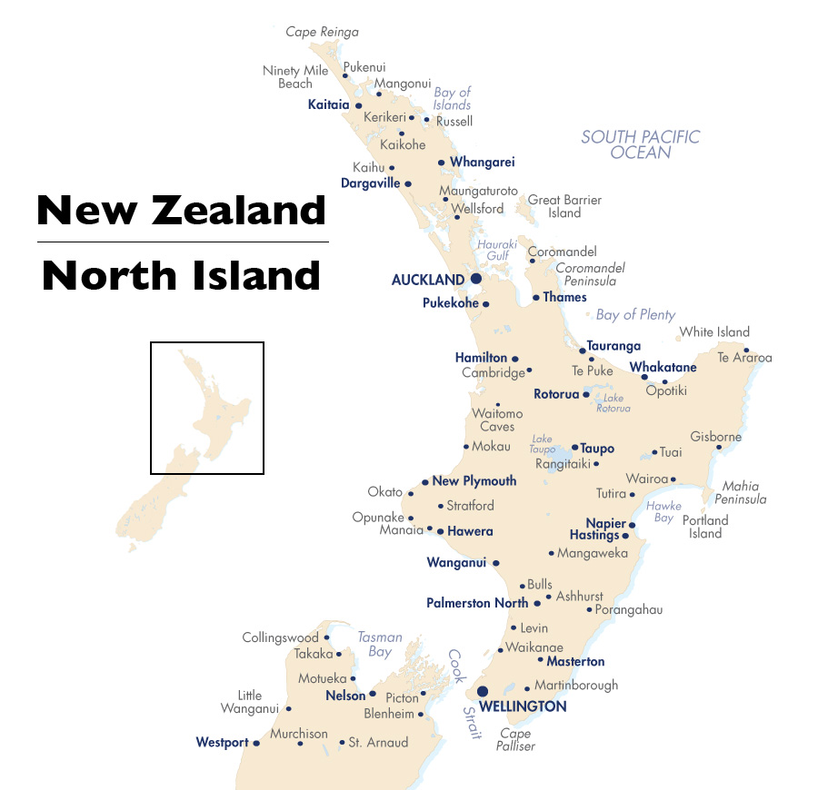 North Island New Zealand  New Zealand Tours  201718  Goway
